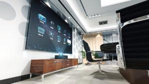 テレビ-壁掛け-イメージ