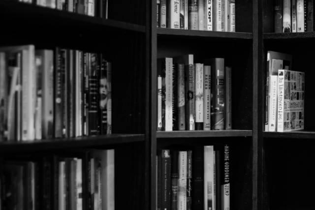 本棚や書庫のない家