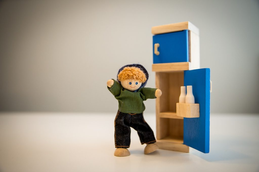 シャープのどっちでもドアで間取りの問題を解決