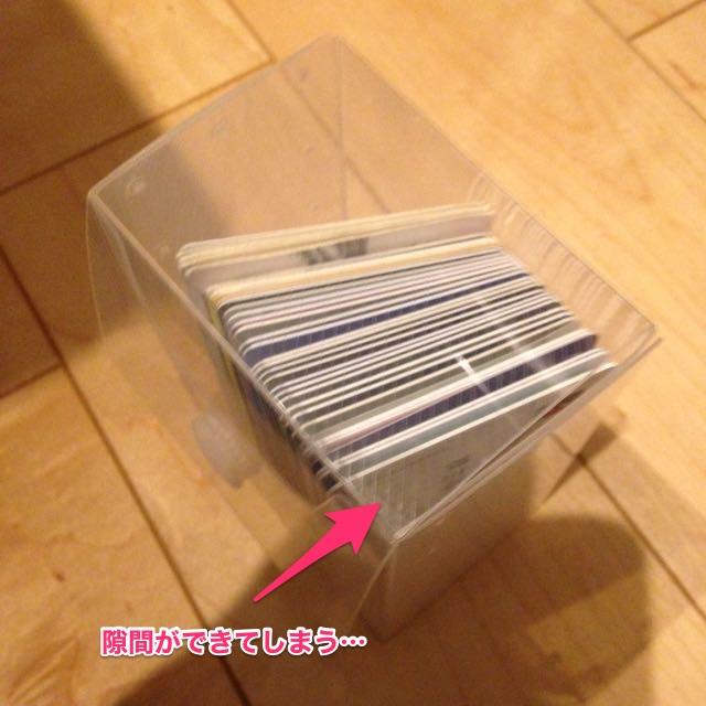 カードゲーム用カードケースはサイズが違う