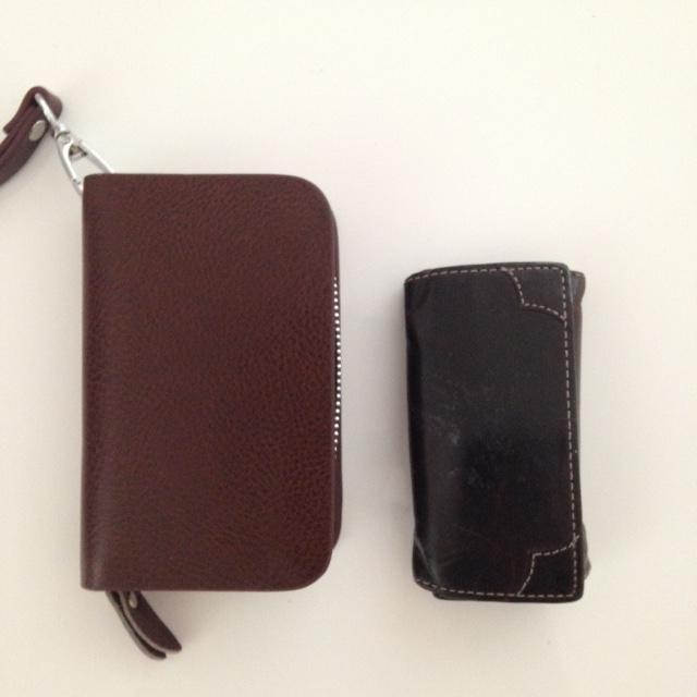 スマートキーケース、従来品との大きさ比較
